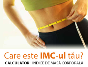 Calculator - indice masa corporala (IMC)